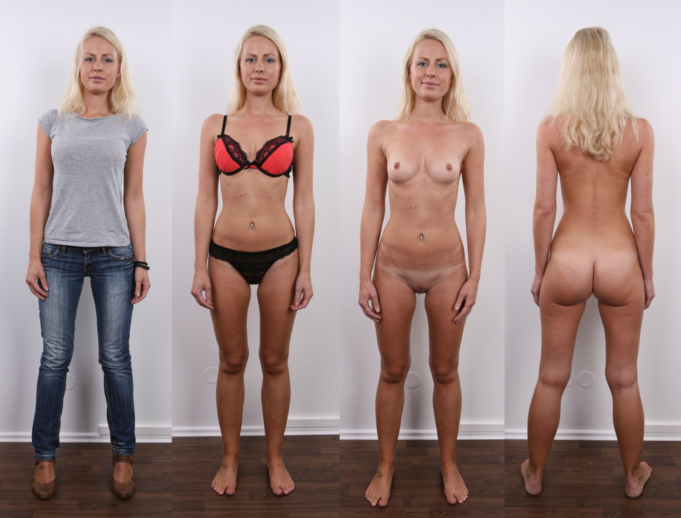 Women clothed nude and CFNM Porn